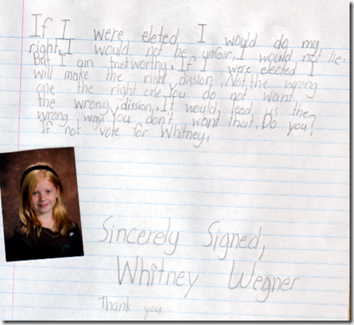 Vote For Whitney