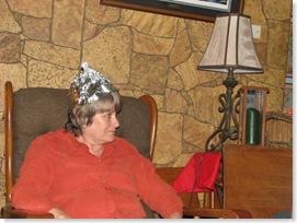 Grandma scared