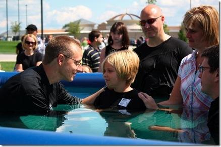 Maddie's Baptism
